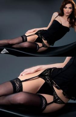 Gabriella Calze Shadow Hold Ups