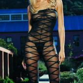 Crotchless Criss-Cross Bodystocking